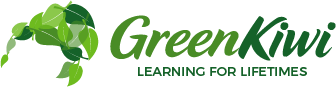 GreenKiwi  |  Learning for lifetimes Logo